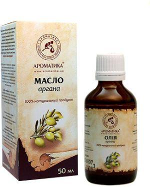 Масло для волос ароматизированный натуральный ароматика