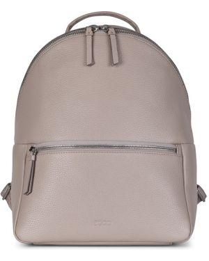 Классический текстильный рюкзак с карманами на молнии Ecco