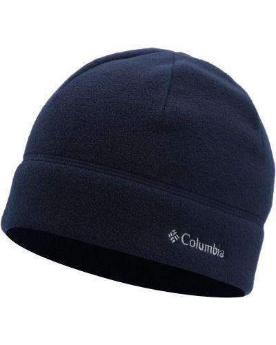 Флисовая шапка - синяя Columbia