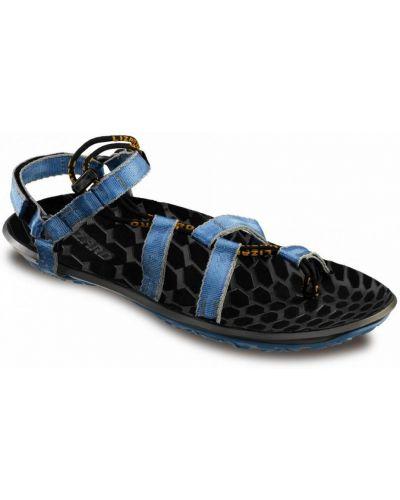 Голубые сандалии анатомические Lizard