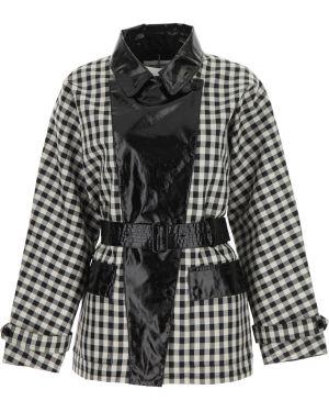 Długi płaszcz od płaszcza przeciwdeszczowego wełniany Barbour