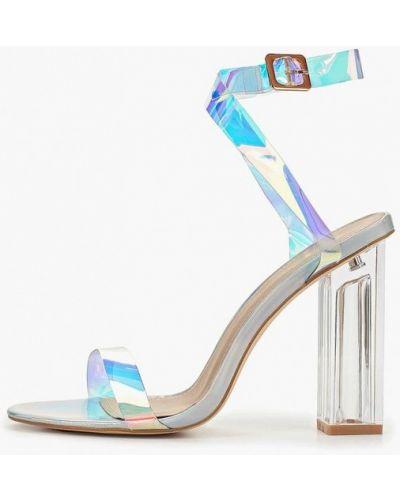 Босоножки на каблуке прозрачные Sergio Todzi