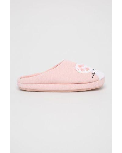 Тапочки розовый Etam