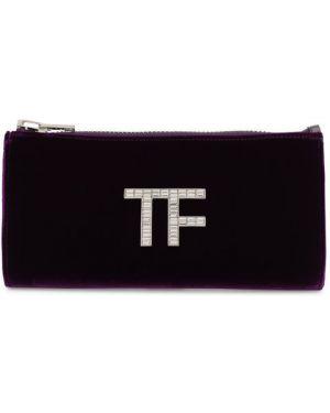 Кожаная сумка бархатная вечерняя Tom Ford
