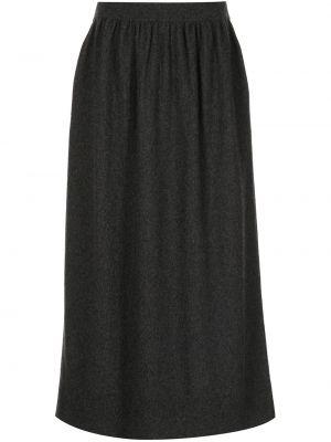 Вязаная юбка - серая Altuzarra