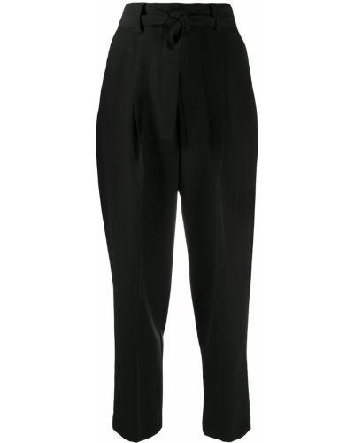 Со стрелками зауженные черные брюки Pt01