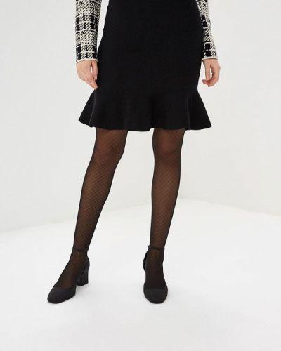 Черная юбка карандаш с рукавом 3/4 Sweewe