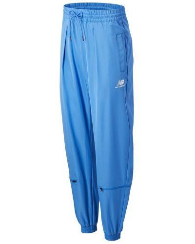 Синяя юбка-шорты New Balance