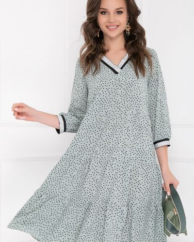Серебряное повседневное платье Bellovera