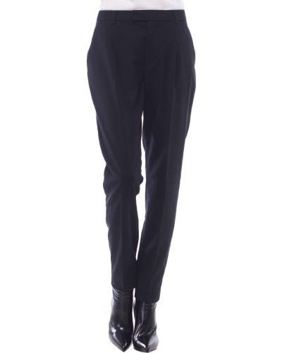 Черные брюки шерстяные Red Valentino