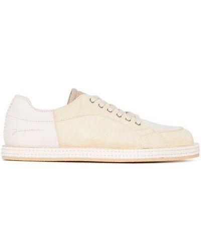 Buty sportowe skorzane - żółte Jacquemus