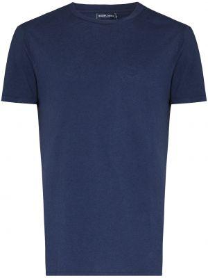 Niebieska koszulka bawełniana Frescobol Carioca