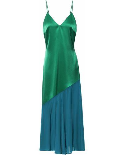Sukienka midi z szyfonu Racil