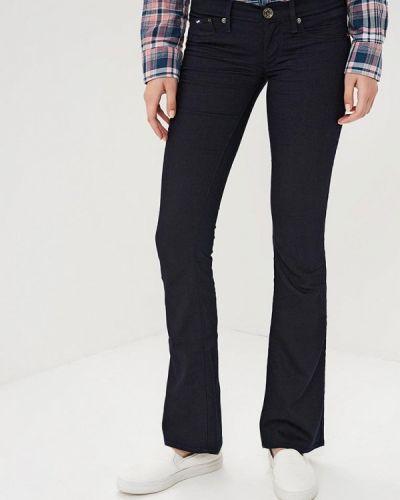 Широкие джинсы расклешенные черные Gas