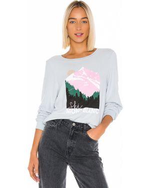 Sweter niebieski Wildfox Couture