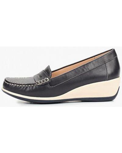 Кожаные туфли на каблуке Geox