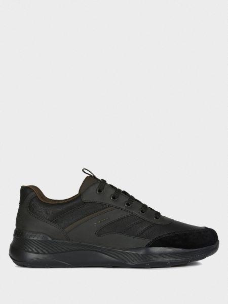 Комбинированные текстильные повседневные кроссовки Geox