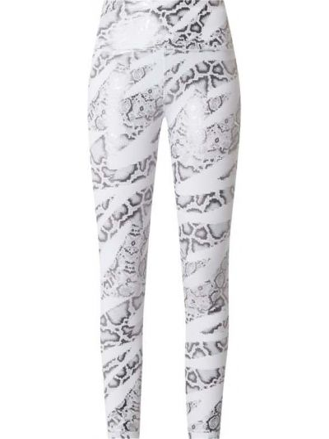 Białe legginsy Puma