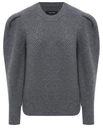 Кашемировый свитер - серый Isabel Marant