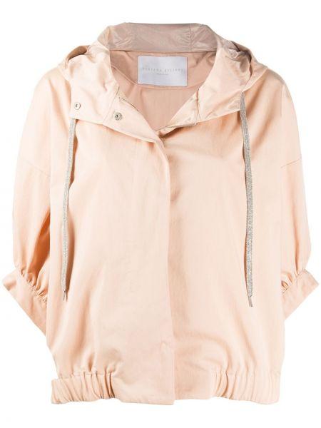 Куртка с капюшоном оверсайз водонепроницаемый Fabiana Filippi