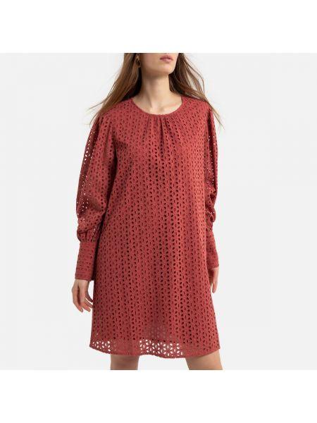 Платье футляр с вышивкой La Redoute