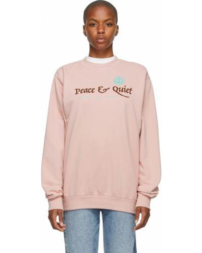 Zielona bluza z długimi rękawami Museum Of Peace And Quiet