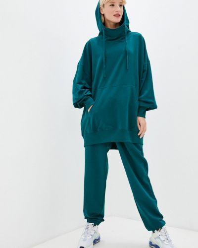 Бирюзовый зимний спортивный костюм Ko'msi