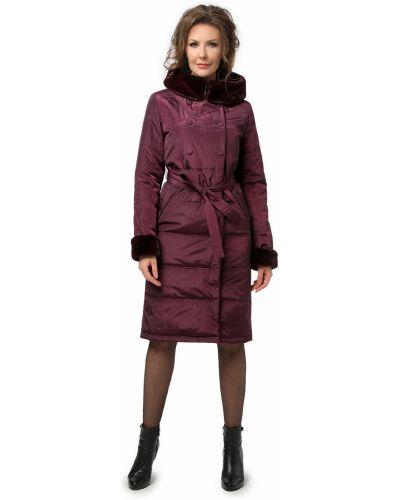 Прямое длинное пальто из искусственного меха с поясом Dizzyway