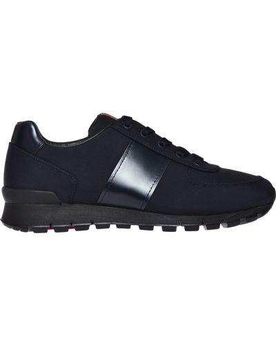 Кроссовки черные Prada
