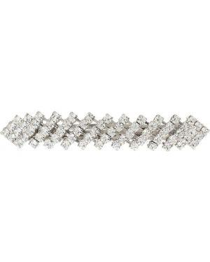 Заколка из серебра с кристаллами сваровски Jennifer Behr