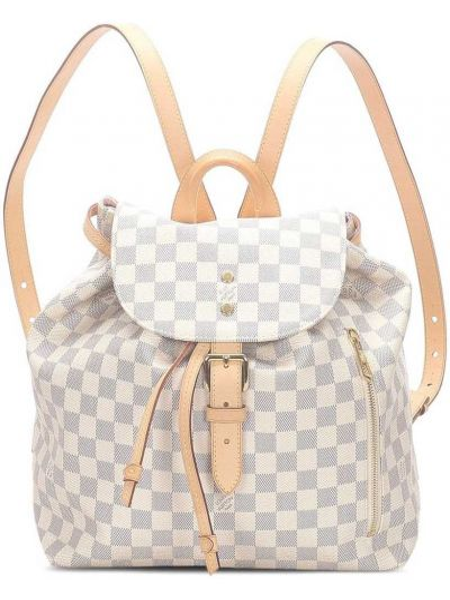 Plecak, biały Louis Vuitton