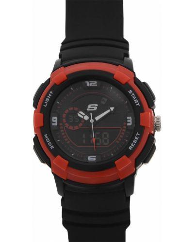 Zegarek kwarcowy silikon z klamrą na co dzień Skechers