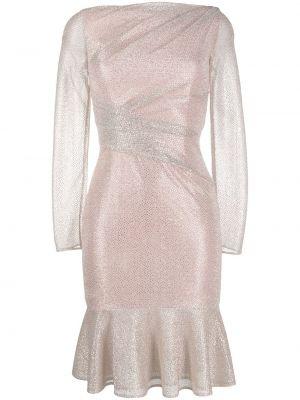 Sukienka dla wysokich kobiet z długim rękawem Talbot Runhof