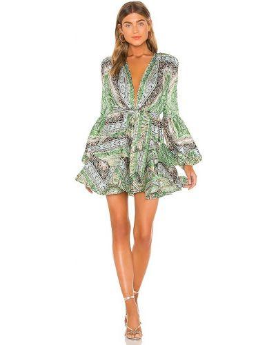 Платье мини классическое - зеленое Bronx And Banco
