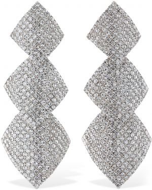Srebrne kolczyki srebrne Alessandra Rich