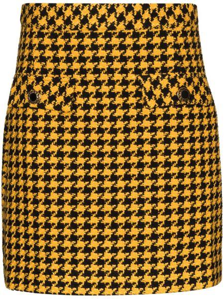 Bawełna bawełna czarny spódnica mini Rixo