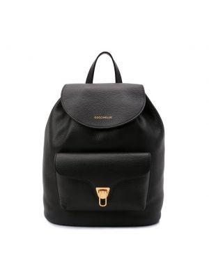 Черный итальянский рюкзак Coccinelle