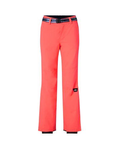 Спортивные брюки из полиэстера - красные O`neill