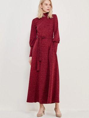 Вечернее платье бордовый красный Alina Assi