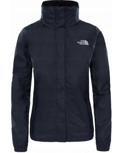 Czarna kurtka z kapturem z długimi rękawami The North Face