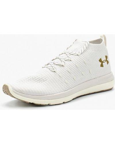 Белые высокие кроссовки Under Armour