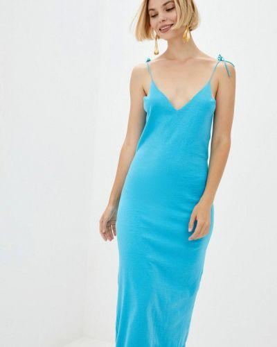 Платье - голубое Nataclub