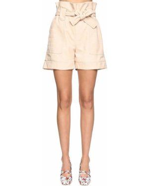 Однобортные шорты с карманами Drome