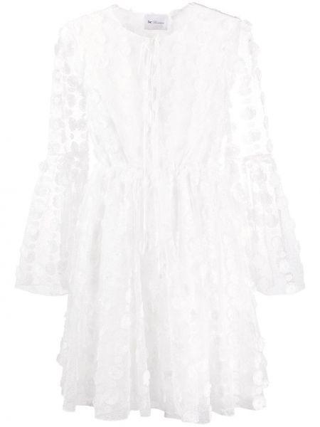 Платье макси длинное - белое Blumarine