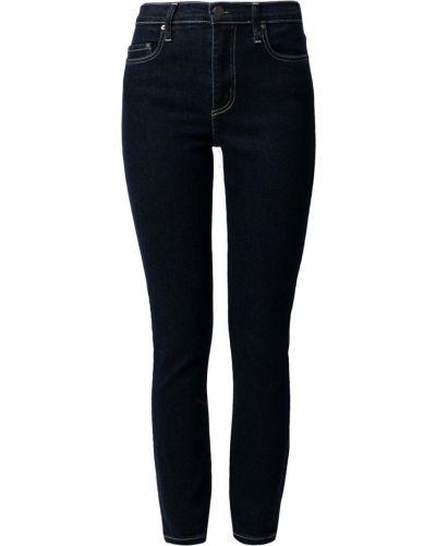 Синие джинсовые джинсы на молнии Nobody Denim