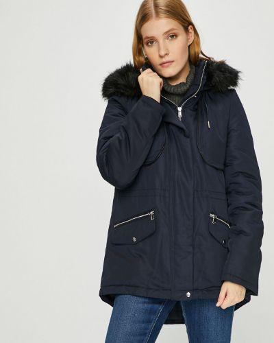 Куртка с капюшоном с карманами утепленная Vero Moda