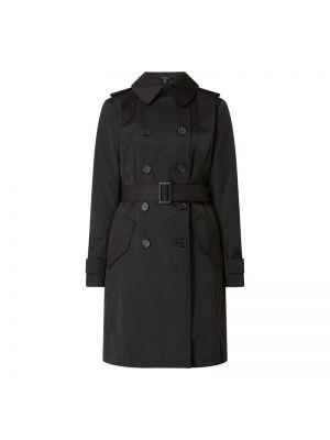 Czarny trencz bawełniany Lauren Ralph Lauren