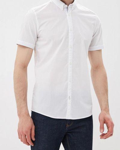 Белая рубашка с короткими рукавами Tom Tailor