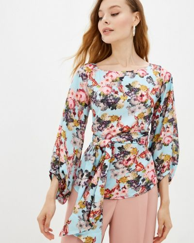 Голубая зимняя блузка Adzhedo