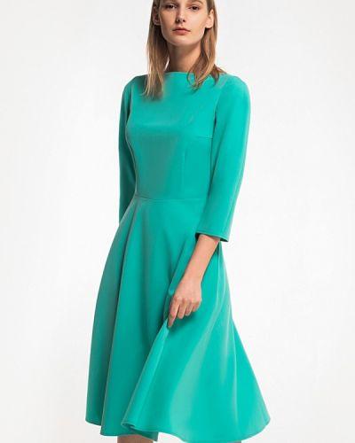 Платье весеннее зеленый Grass